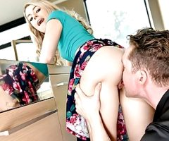 ExxxtraSmall – Tiny Assistant Gets Her Tight Pussy Pounded