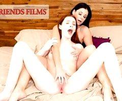 GirlfriendsFilms – Lesbian Nun Watches Teen Masturbate