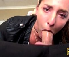 Handcuffed Submissive Throated and Analized
