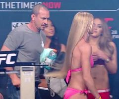 I've Been Crazy Into Jerking Off Into Athletes Recently….my Most Recent Crush Has Been Holly Holm And Her AMAZING Ass