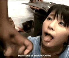 Japanese woman travels to America to swallow Black men's cum
