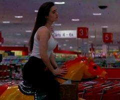 Jennifer Connelly Riding