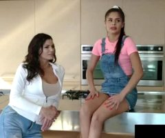 Katya Rodriguez & Becky Bandini – A Threesome In The Family Room