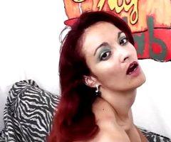 Mary Rider – Redhead solo anal masturbation