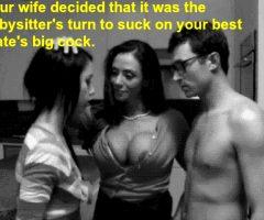 share husband dick