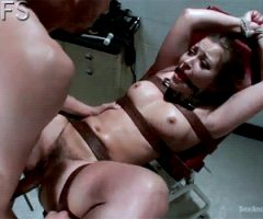 Tied up. Dani Daniels   Sex and Submission