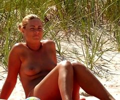 Topless German mom