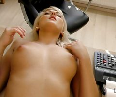 VIP4K. Blonde-haired miss has sex for cash with handsome