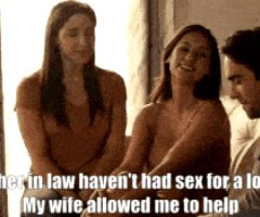 wife allowed me to help my mother in law with her sex appetite