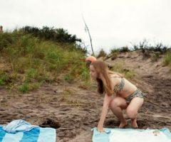 Willa Fitzgerald In Beach House