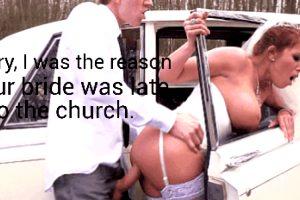 I'm so glad everybody was inside the church