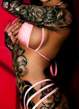 Amazing Tattooed Fitness Girls & Women Daily Pictures. Motivation… Inspiration… Beauty
