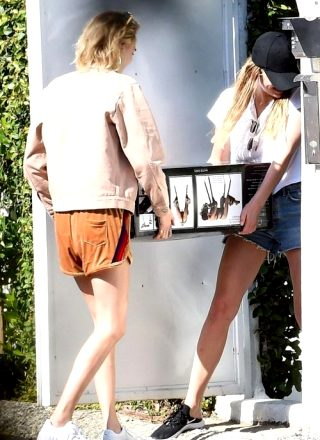 Ashley Benson And Cara Delevingne Bring Home An Exciting New Item