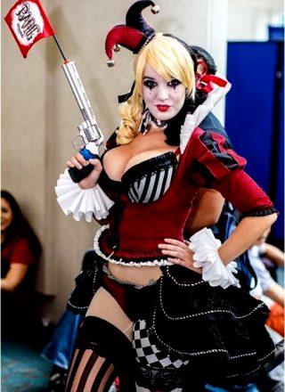 Ballerina Harley Quinn By Lisa Lou Who