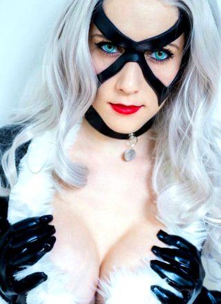 Black Cat From Marvel Comics By Regina Scarlett