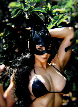 Catwoman Mask Test Shoot