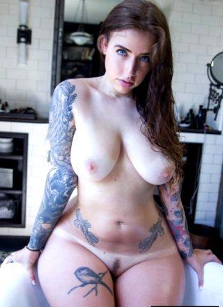 Curvy And Tattooed