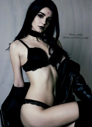 Do You Ever Dream About Goth Girlfriend? Raven By Kanra_cosplay