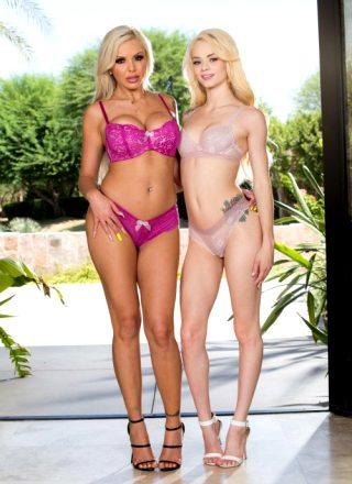 Elsa Jean & Nina Elle – Skinny