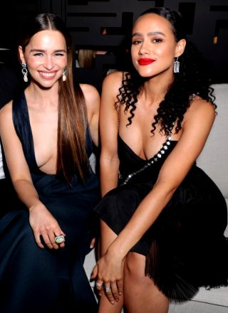 Emilia Clarke And Nathalie Emmanuel Are Total Babes