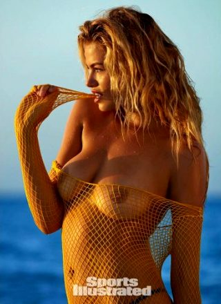 "Haley Clauson's ""swimsuit"" For Sports Illustrated Magazine"