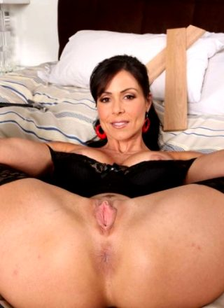 Hot Milf Nurse Kendra Lust In Black Lingerie