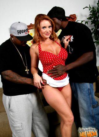 Janet Mason, Rico Strong & Wesley Pipes – Big Cock