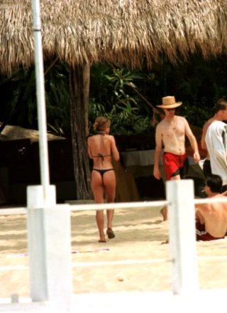 Jennifer Aniston In A Thong Bikini