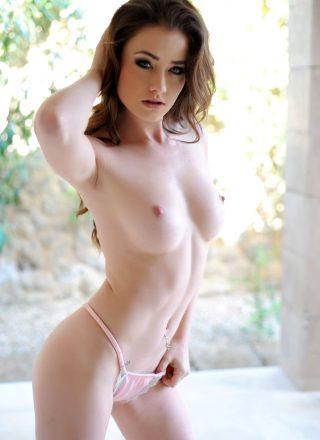 Jessica Impiazzi – Cute Pink Lingerie