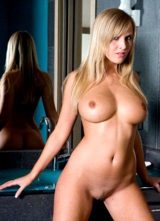 Karina Myerson Blonde Bathroom