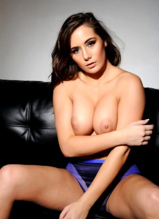 Laura Hollyman – Laura Peels Off Her Purple Lingerie