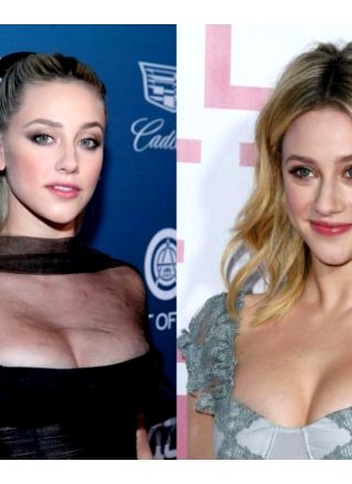 Lili Reinhart's Boobs Are Too Big For These Dresses