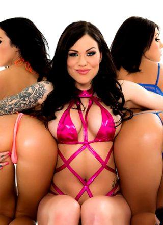 Living In An Anal Paradise Adriana Chechik, Karmen Karma, Megan Rain Big Wet Butts