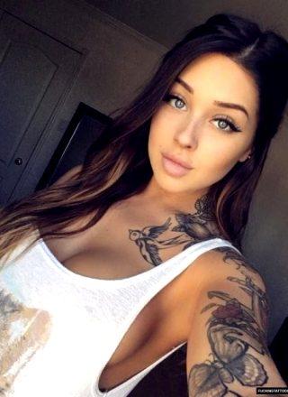Loose Shirt Selfie