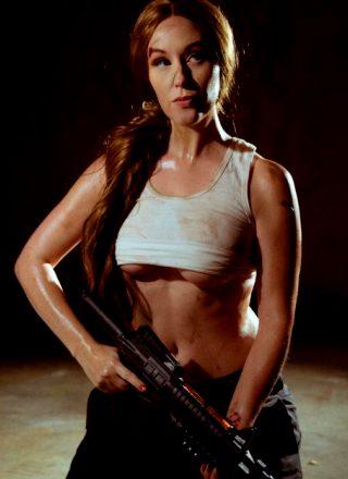 Meg Turney As John Maclane Genderbend