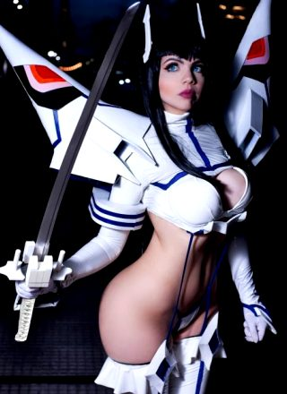 Mery Moonlight As Satsuki From Kill La Kill