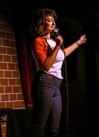 Milana Vayntrub Doing Stand-up