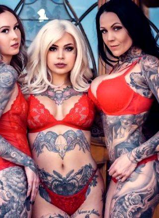 Monica Zamora, Hailey Divine And Tysha Schmitz