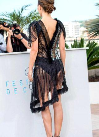 Natalie Portman Made Sure To Wear A Dress That Showed Off Her Ass