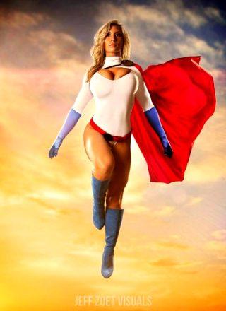 Power Girl By Alyssaloughran