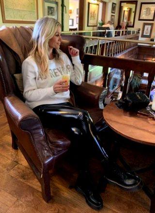 Pvc Leggings Outfit