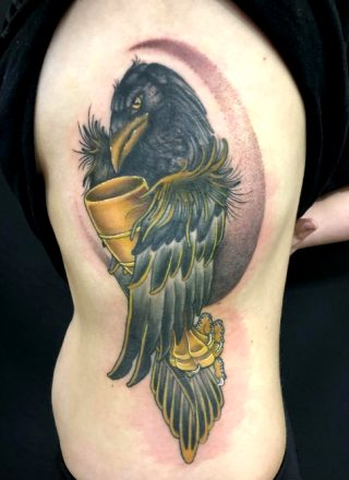 Raven And Goblet