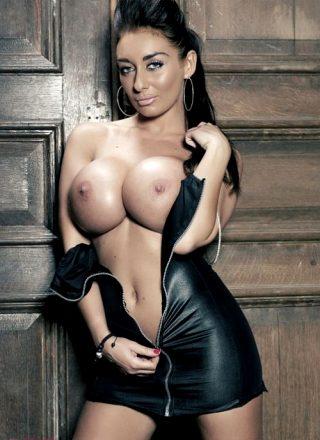 Seductive cleavage and booty selection by 'Bimbos and Party Sluts Bimbo World'