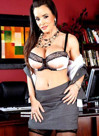 Sex Therapist – Lisa Ann – Big Tits At Work