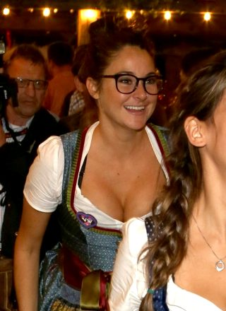 Shailene Woodley In A Dirndl For Oktoberfest
