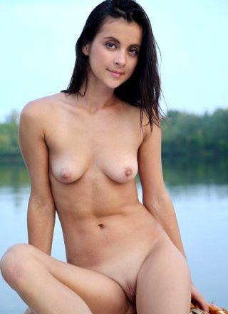 Skinny Normal Tits Beauty