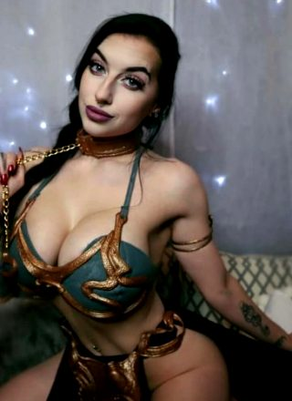 Slave Leia By Cubbi Thompson. New From IG