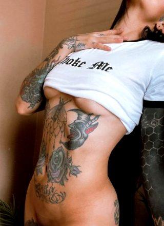 Tattoo Model Megan Lopez