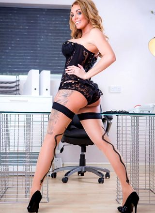 The Firm And The Fanny Stacey Saran Big Tits At Work
