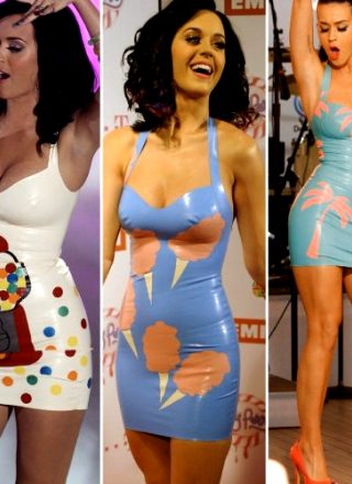 Throwback To Katy Perry Performances In Latex Outfits